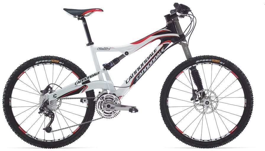 Cannondale RUSH CARBON SL 2 2009 review - The Bike List