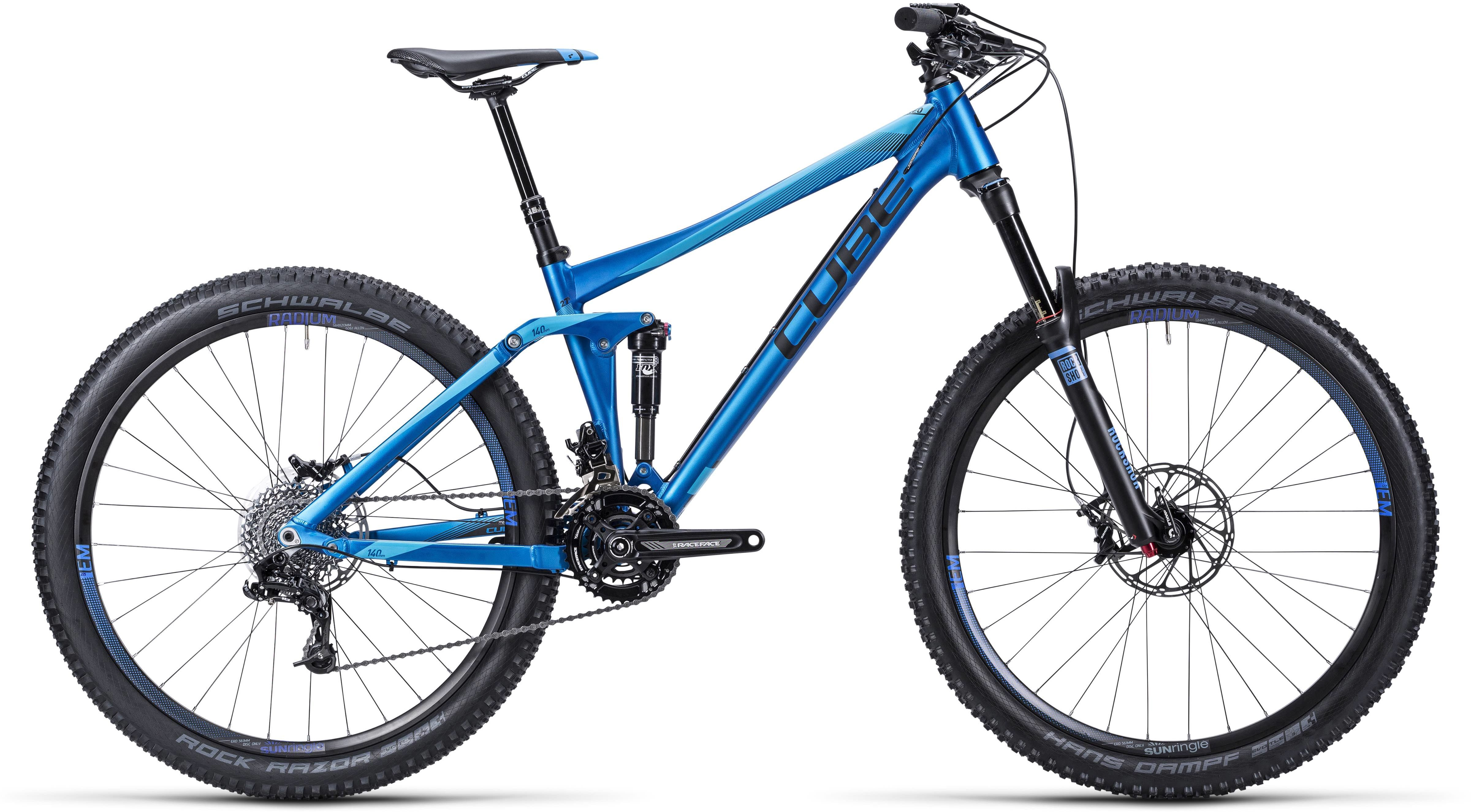 5680c555d5a Cube Stereo 140 HPA Pro 27.5 2015 review - The Bike List