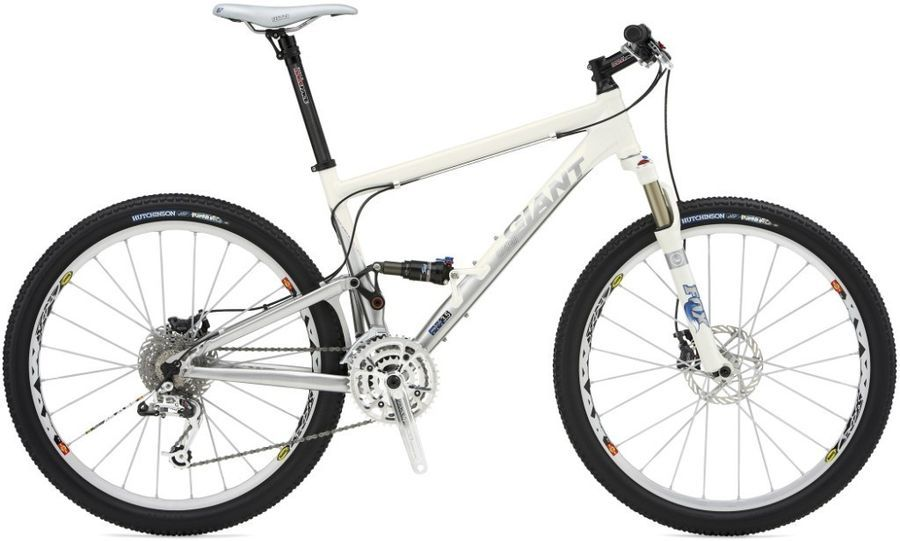 3b2696ed9d6 Giant Anthem Zero 2007 review - The Bike List