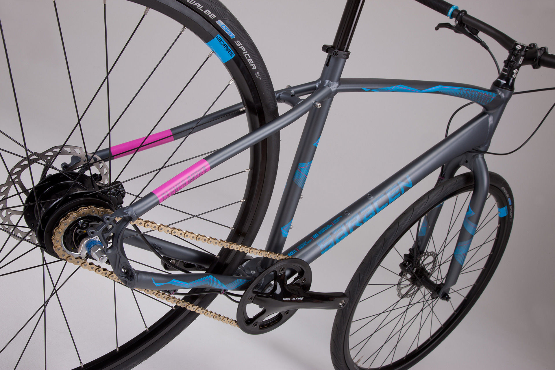Saracen Urban Clever Mike 2015 review - The Bike List