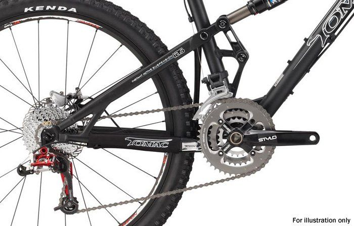Tire Sizes Explained >> Tomac Automatic 120 1 2010 review - The Bike List