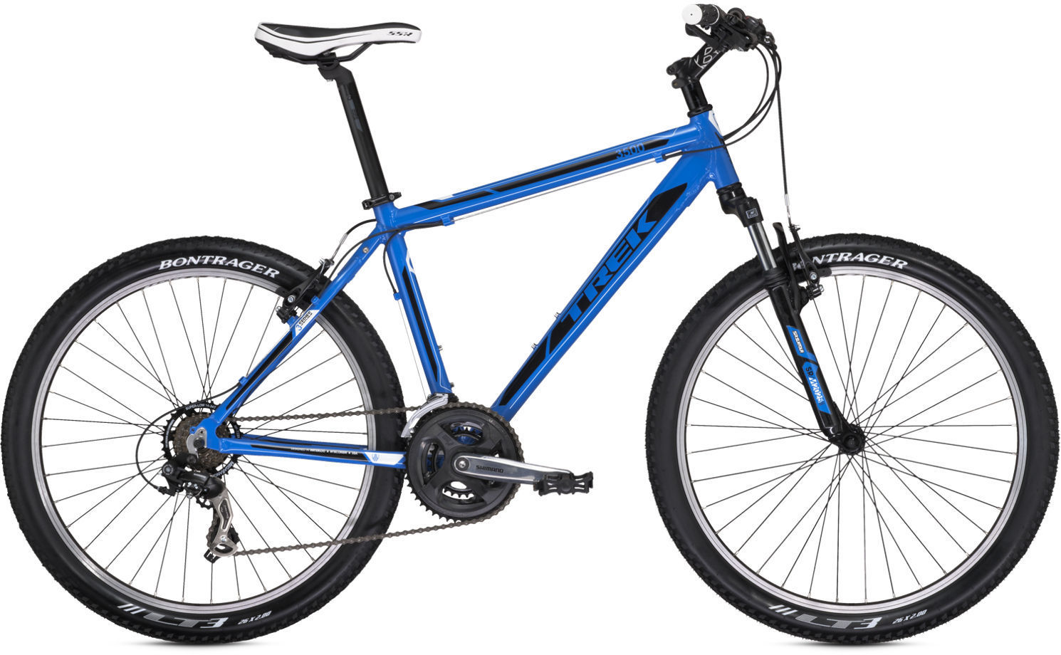 25abf2b4733 Trek 3500 2013 review - The Bike List