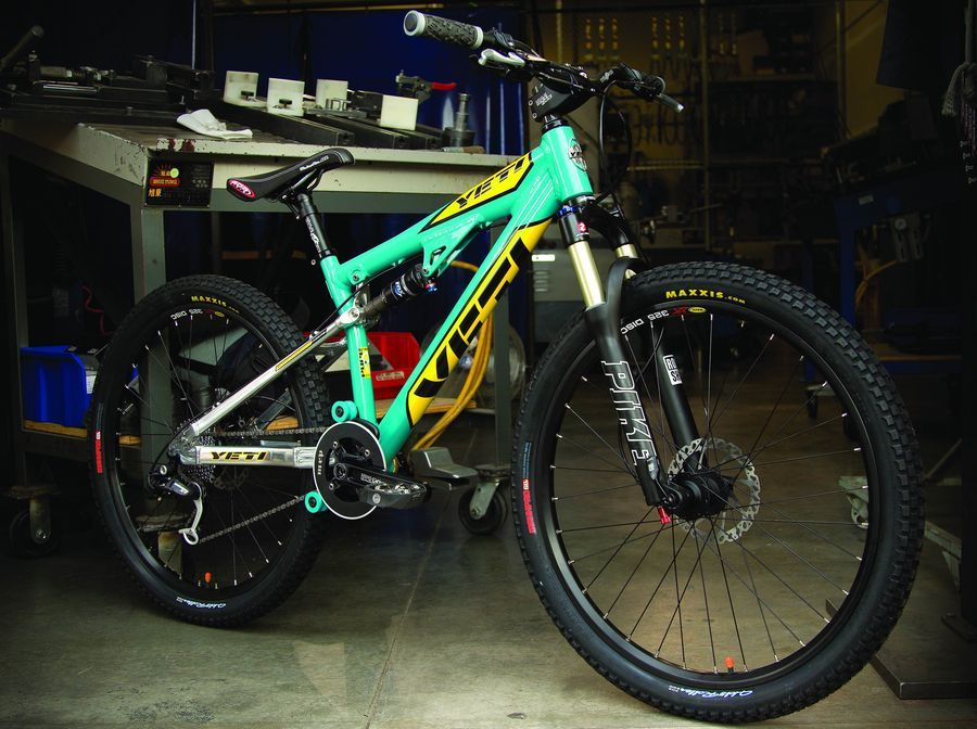 Yeti 4X 2007 review - The Bike List