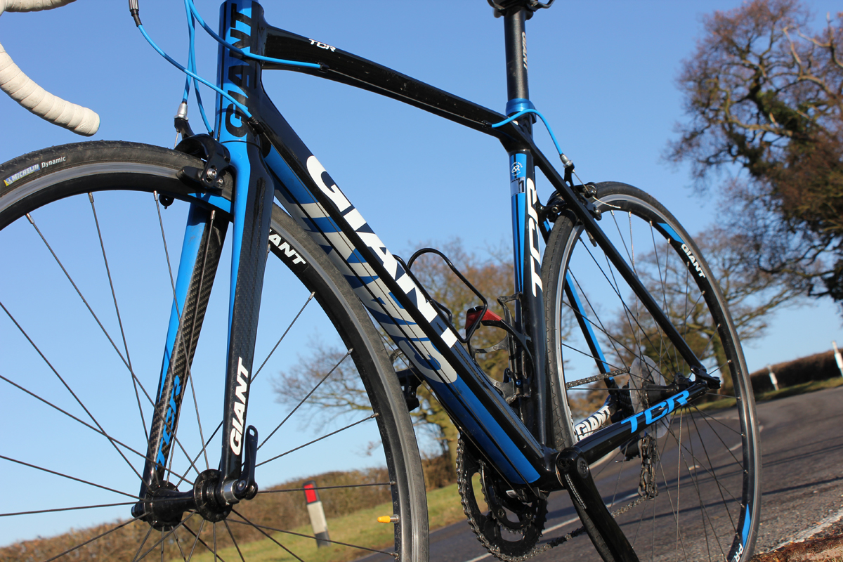c8a0c22a73a Giant TCR 1 Compact 2011 review - The Bike List