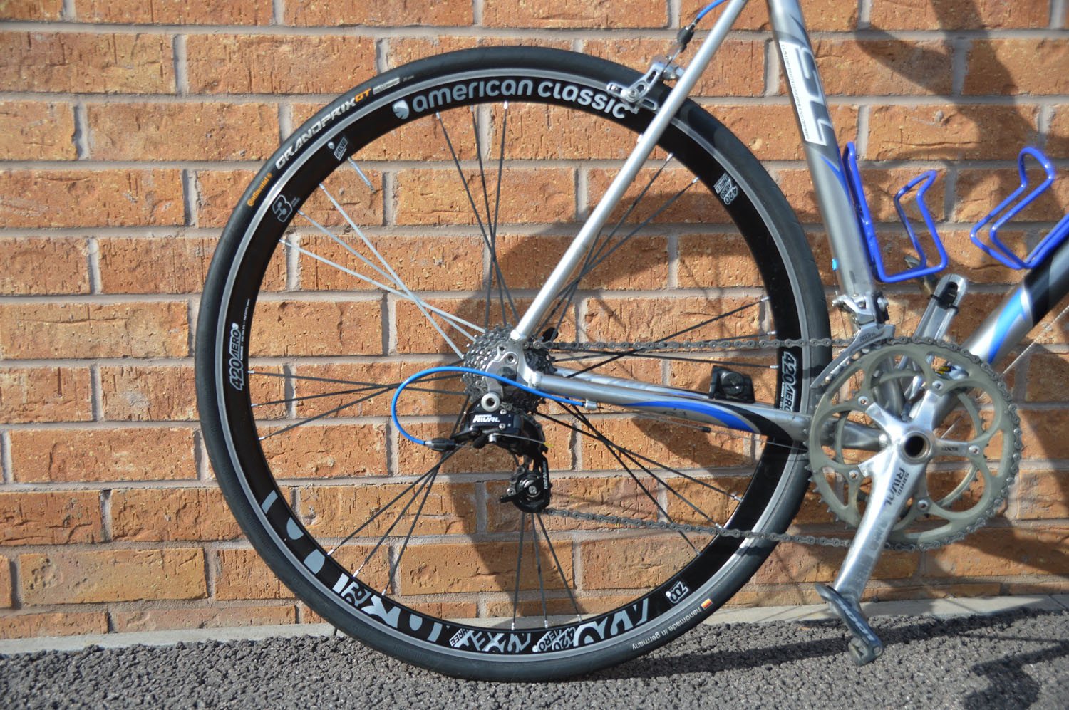 American classic 420 aero 3 clincher wheelset 600 the for Classic american