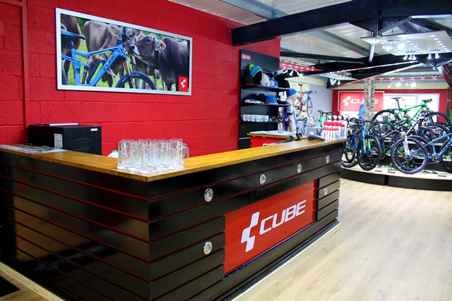 Grand opening of the first UK CUBE Store - The Bike List